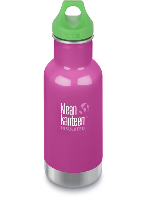 Klean Kanteen Kid Classic Vacuum Insulated Bottle Loop Cap 355ml Wild Orchid
